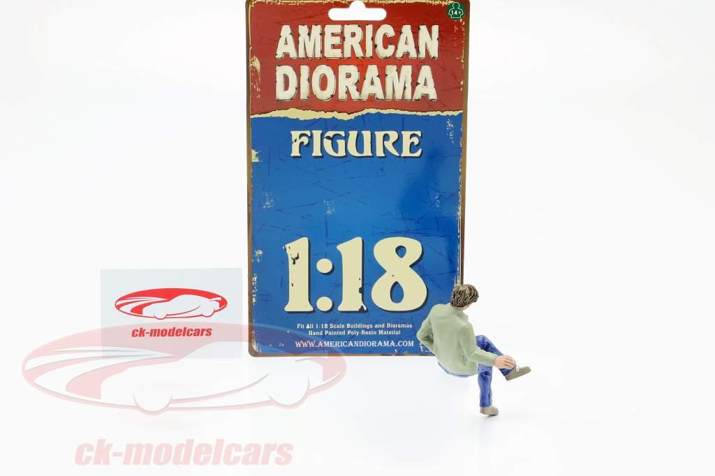 Zitten Liefhebbers Figuur #1 1:18 American Diorama