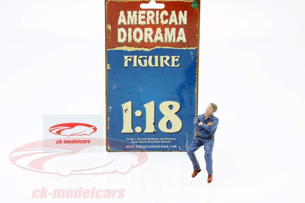 Sentado Mecânico Figura #2 1:18 American Diorama