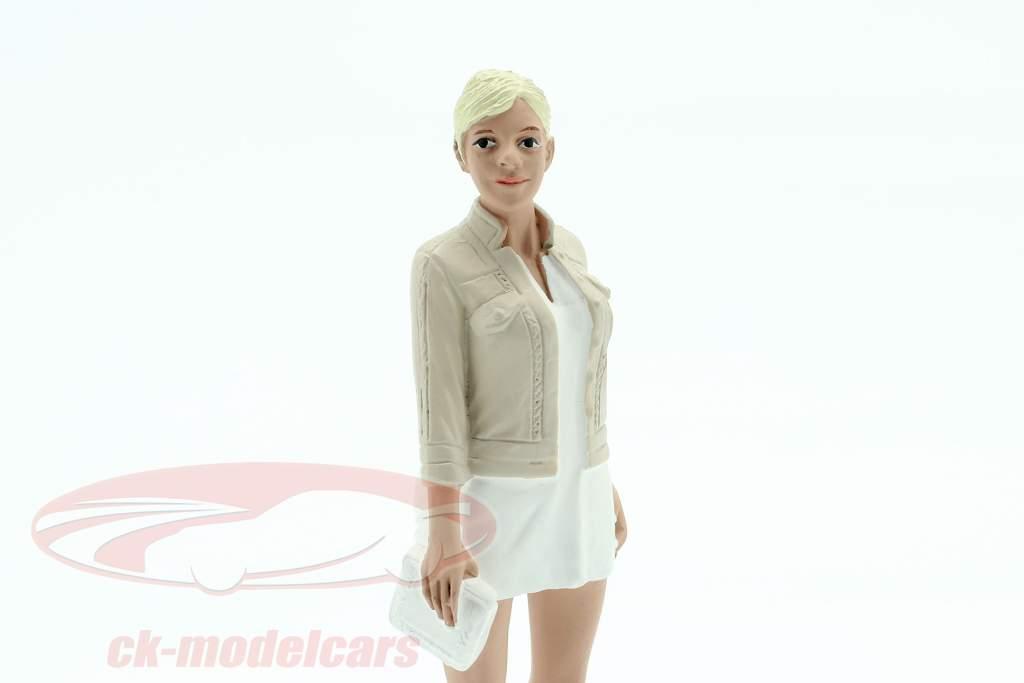 Asistente de fiesta Figura #4 1:18 American Diorama