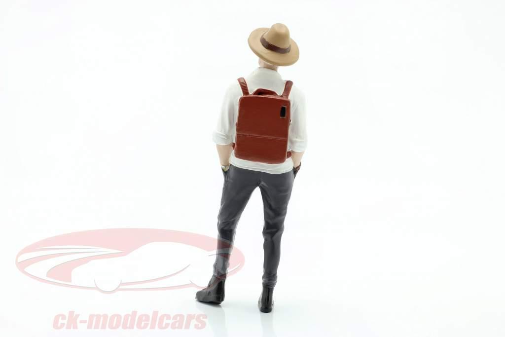 Feestvierder Figuur #3 1:18 American Diorama