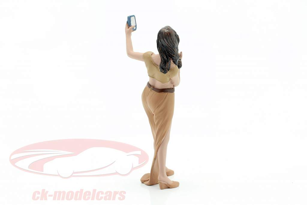 Asistente de fiesta Figura #5 1:18 American Diorama