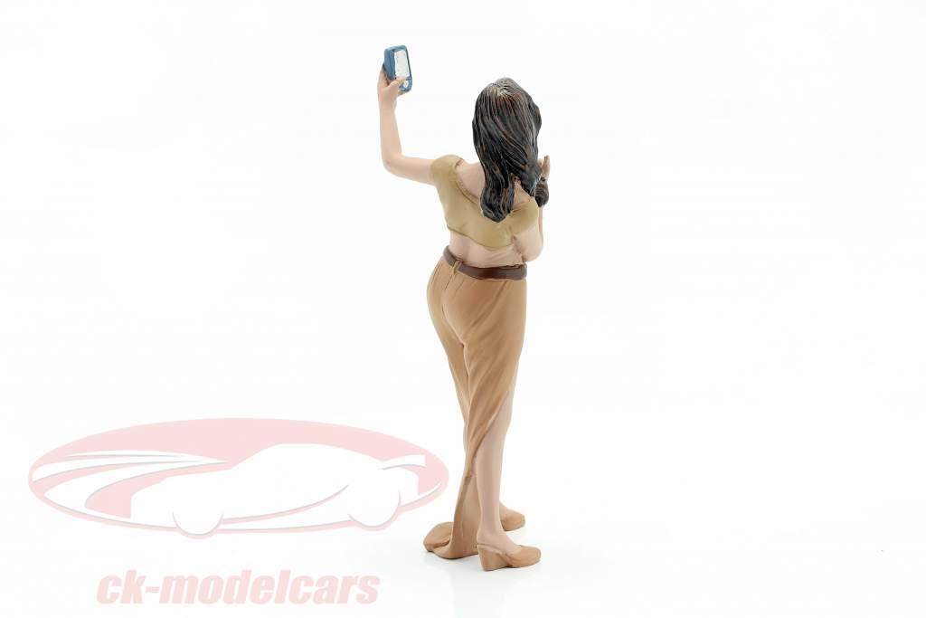 Partygängerin Figur #5 1:18 American Diorama