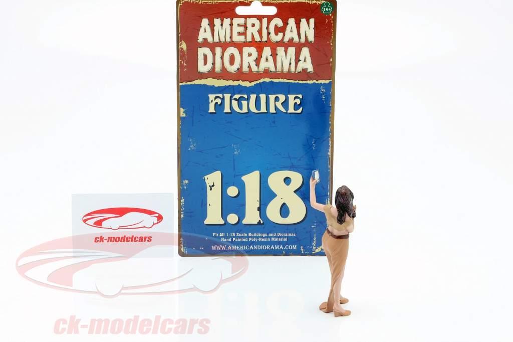 Feestvierder Figuur #5 1:18 American Diorama