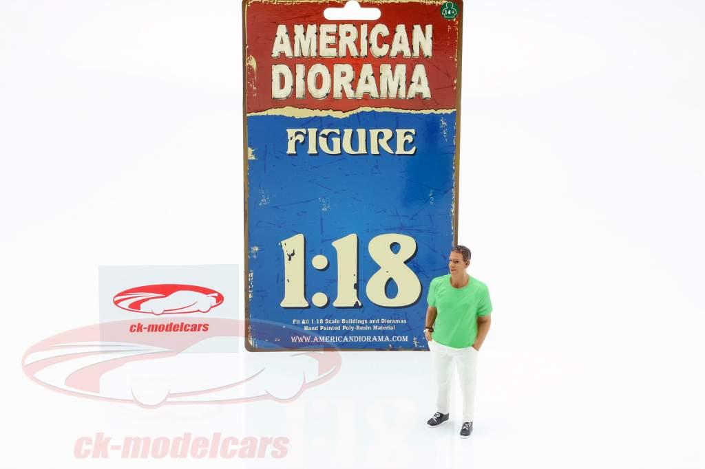 partygoer figur #9 1:18 American Diorama