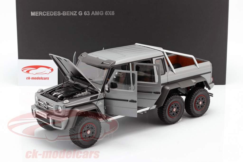 Mercedes-Benz G63 AMG 6x6 Anno di costruzione 2013 designo platinum magno 1:18 AUTOart