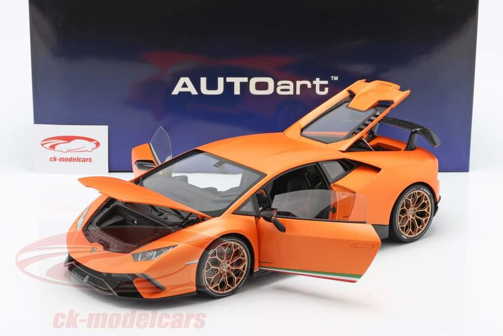 Lamborghini Huracan Performante Baujahr 2017 anthaeus orange 1:12 AUTOart