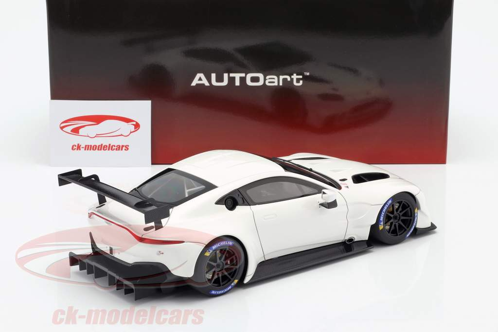 Aston Martin Vantage GTE LeMans Pro Plain Body Edition 2018 bianco 1:18 AUTOart