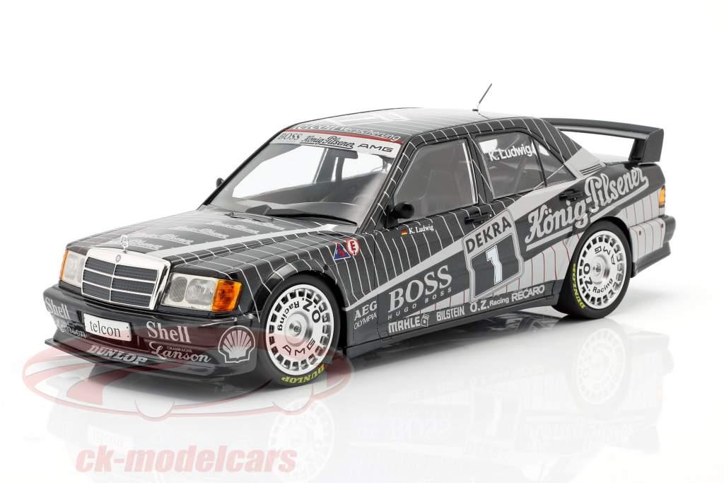 Mercedes-Benz 190E 2.5-16 EVO 1 #1 Klaus Ludwig DTM 1989 1:18 Minichamps