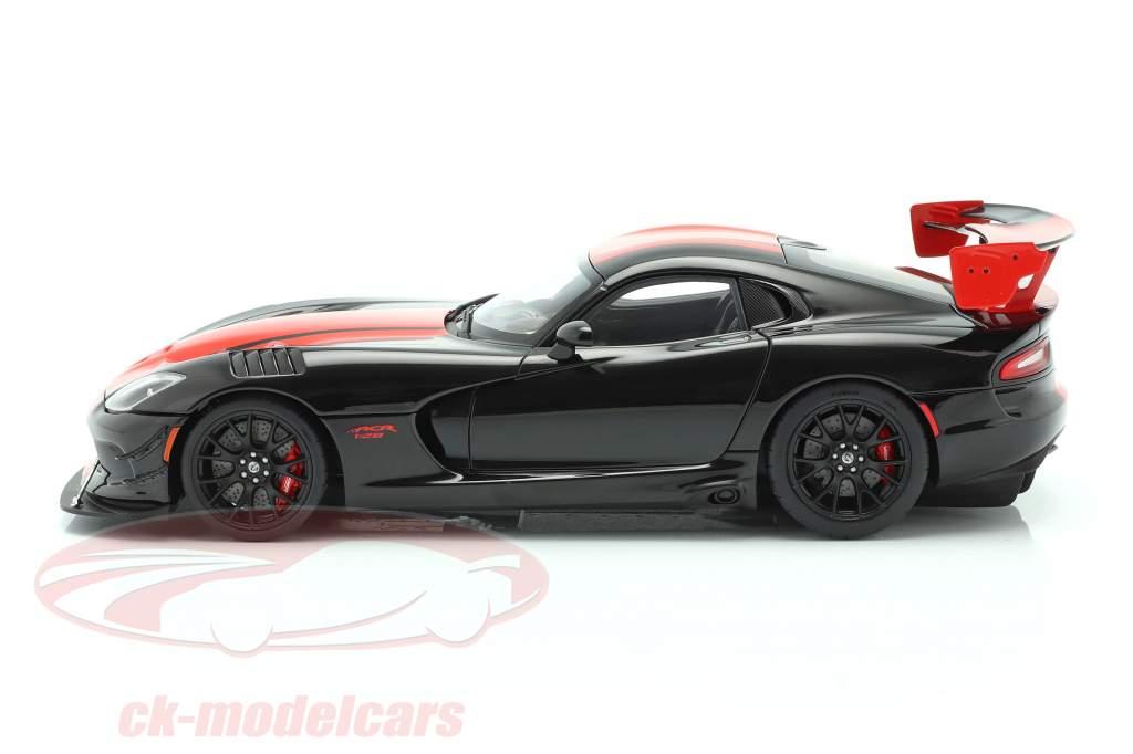 Dodge Viper ACR Año de construcción 2017 negro / rojo 1:18 AUTOart