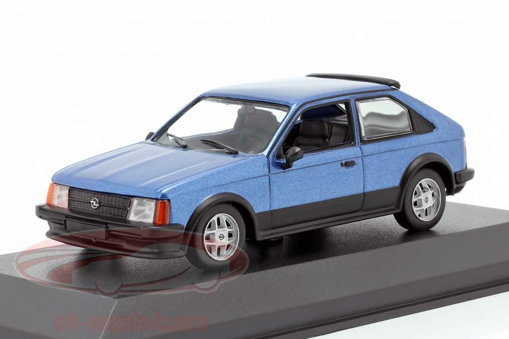 Opel Kadett D SR year 1982 blue metallic 1:43 Minichamps