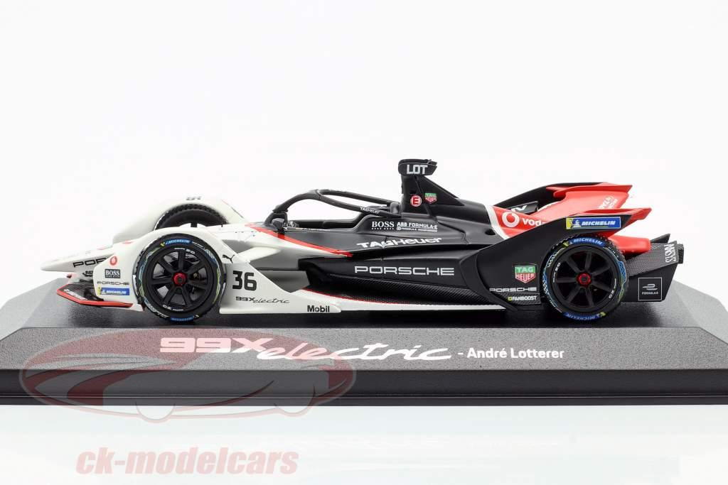 A. Lotterer Porsche 99X electric #36 Santiago ePrix formula E 2019/20 1:43 Minichamps