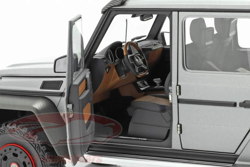 Mercedes-Benz G63 AMG 6x6 Année de construction 2013 designo platinum magno 1:18 AUTOart