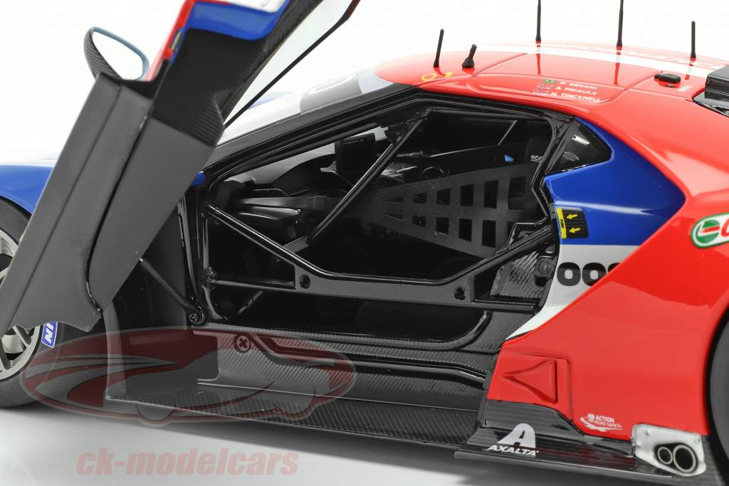 Ford GT #67 24h LeMans 2017 Tincknell, Priaulx, Derani 1:18 AUTOart