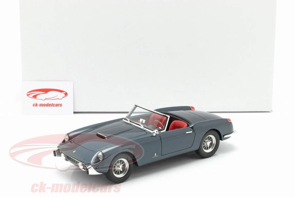 Ferrari 250 GT Descapotable Series 1 Año de construcción 1957 azul 1:18 Matrix