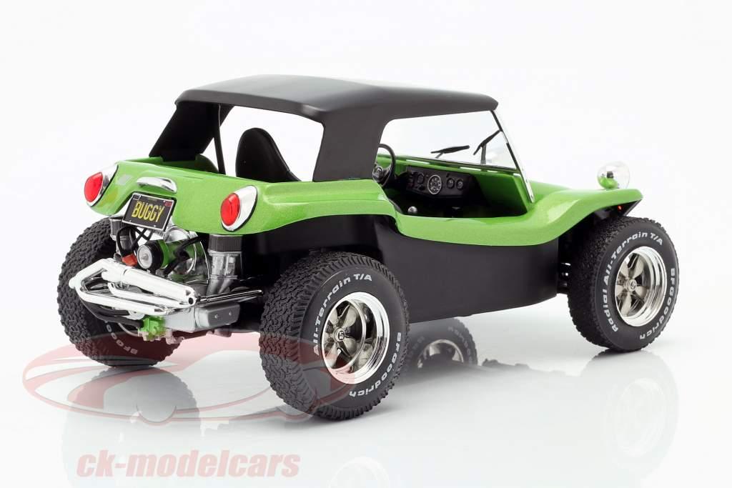 Meyers Manx Buggy con Softtop Anno di costruzione 1968 verde metallico / nero 1:18 Solido