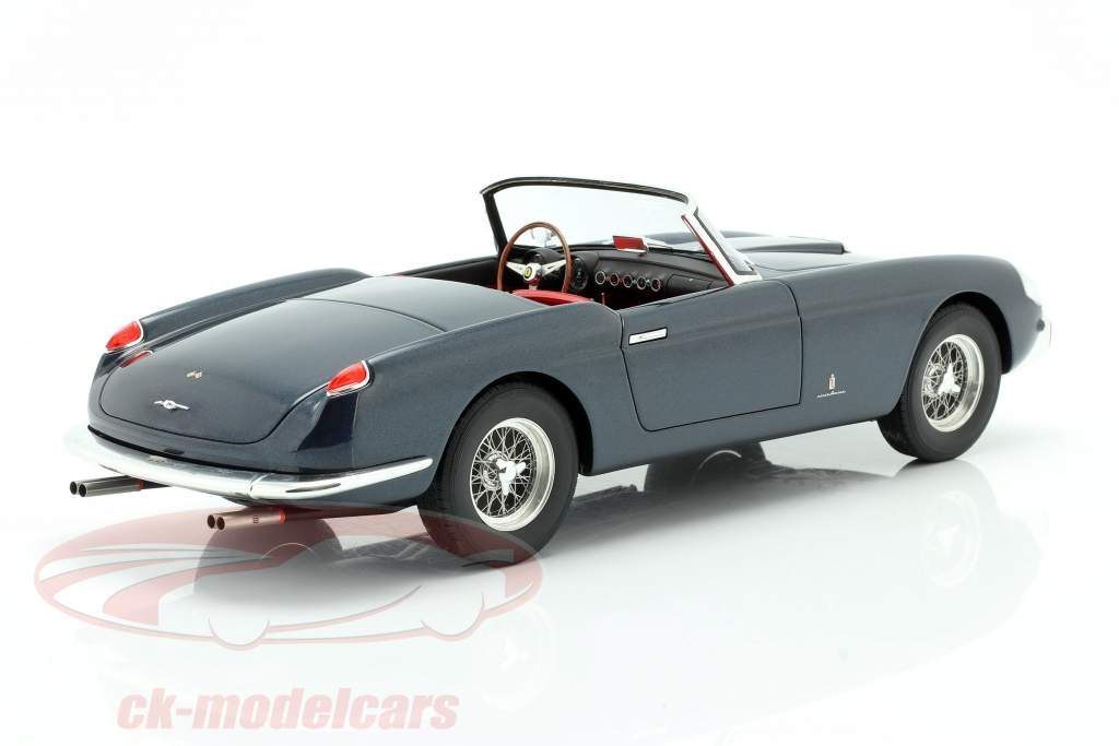 Ferrari 250 GT Cabriolet Series 1 Byggeår 1957 blå 1:18 Matrix