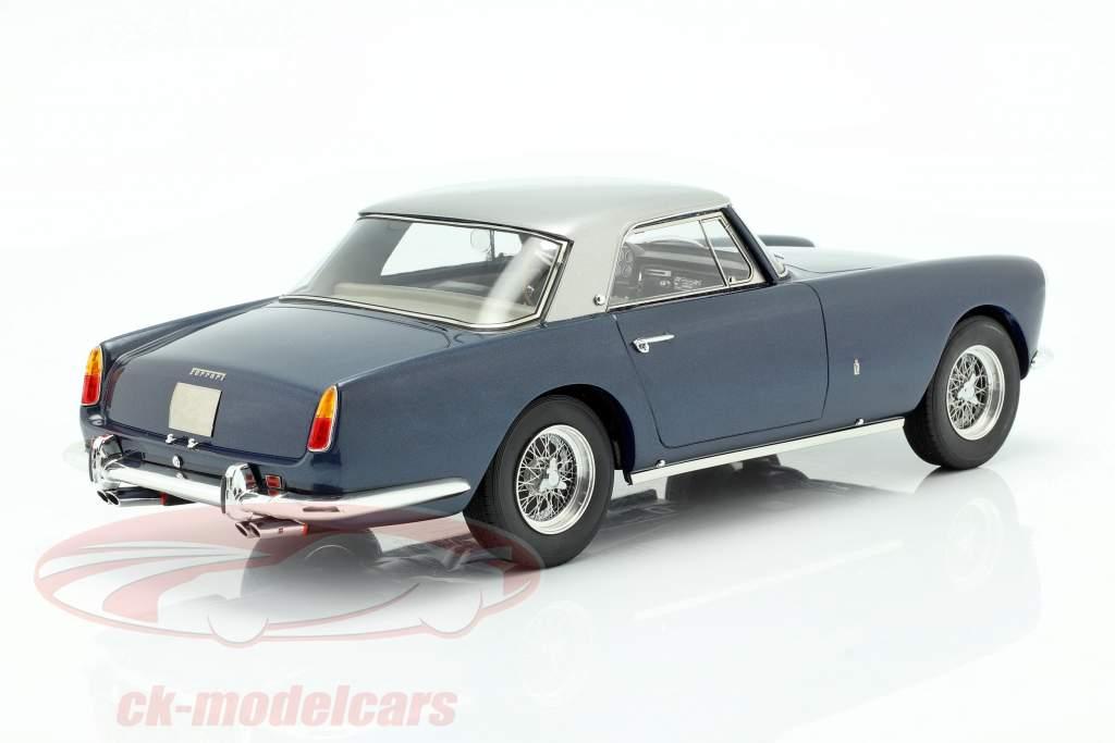 Ferrari 250 GT Coupe Pininfarina year 1958 blue metallic / silver 1:18 Matrix