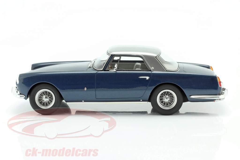 Ferrari 250 GT Coupe Pininfarina Byggeår 1958 blå metallisk / sølv 1:18 Matrix