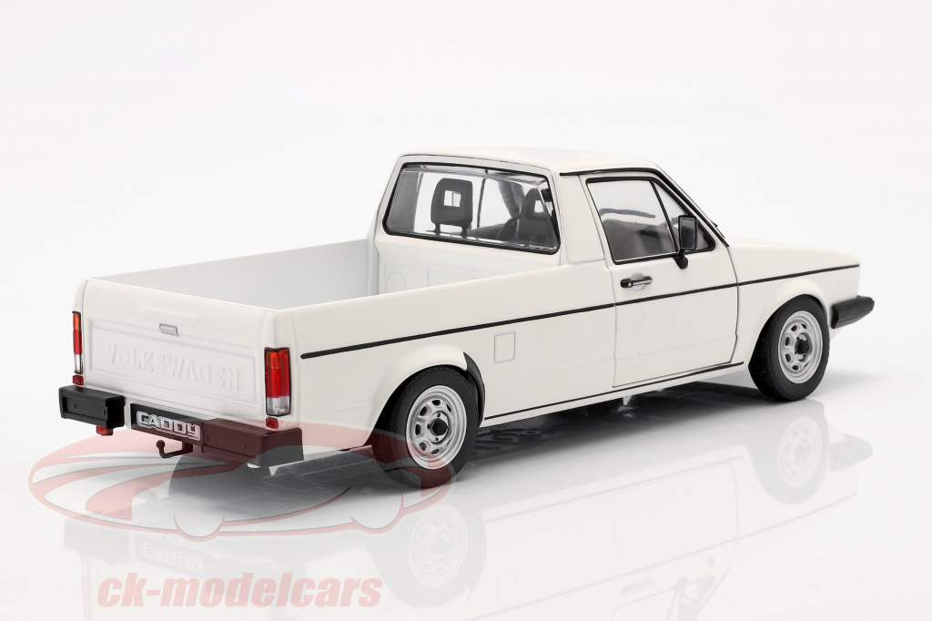 Volkswagen VW Caddy MK1 Année de construction 1982 blanc 1:18 Solido