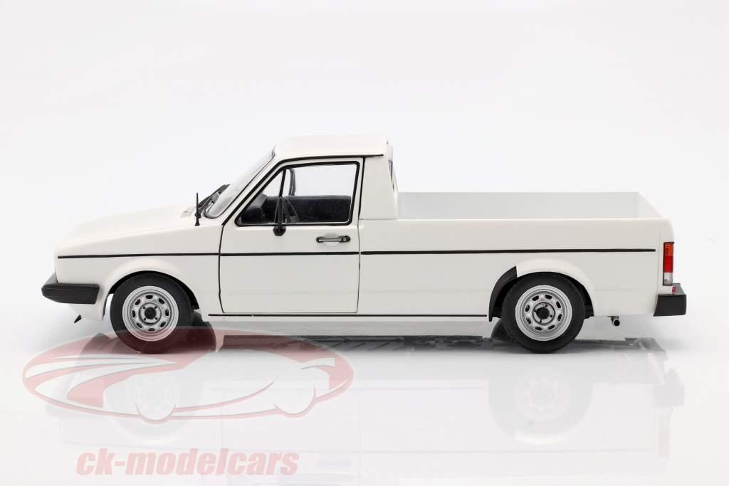 Volkswagen VW Caddy MK1 Anno di costruzione 1982 bianco 1:18 Solido