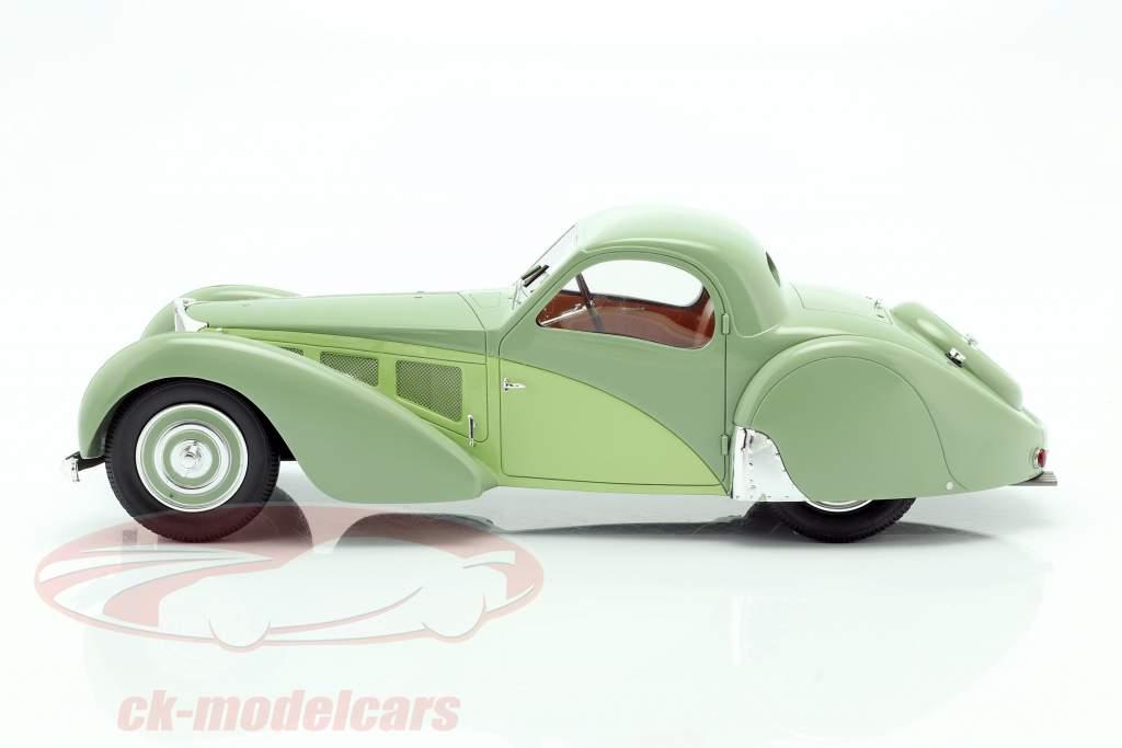 Bugatti T57SC Atalante Baujahr 1937 grün 1:18 Matrix