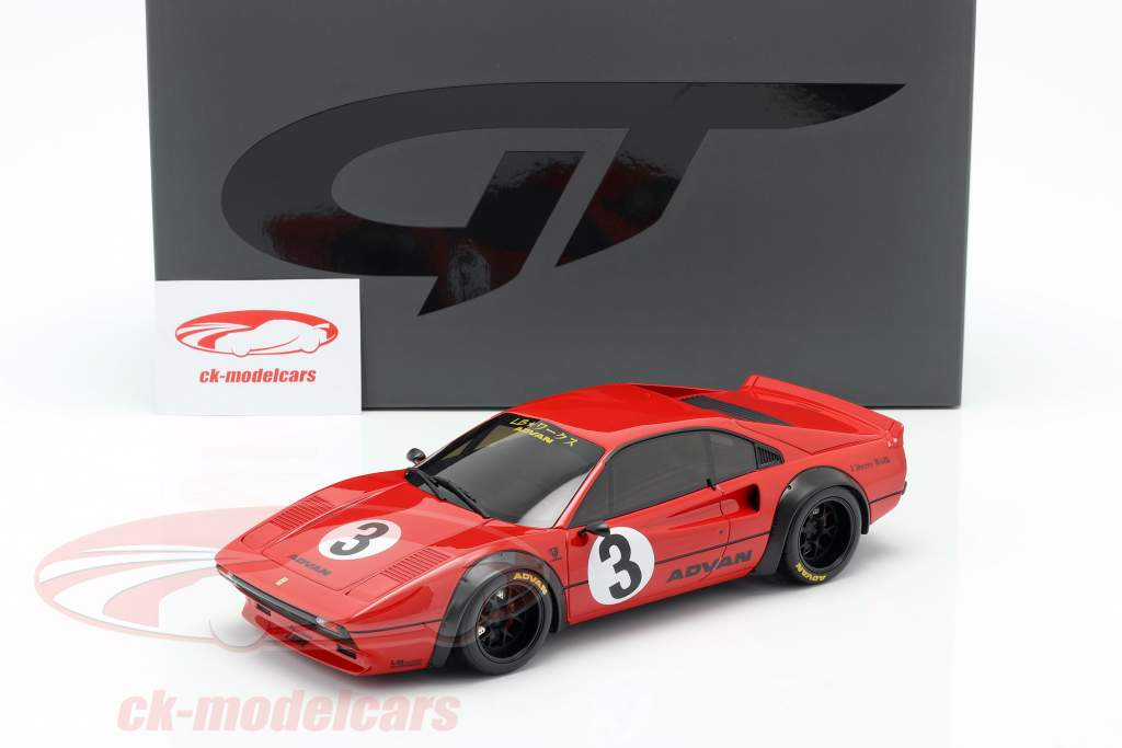 Ferrari 308 GTB #3 LB-Works 2018 vermelho 1:18 GT-Spirit