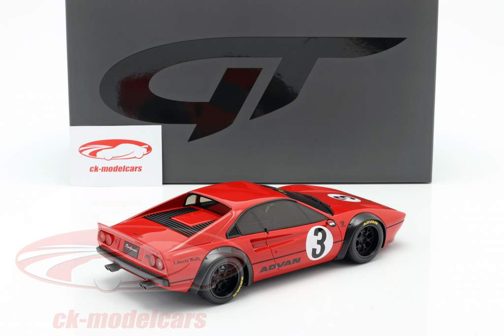 Ferrari 308 GTB #3 LB-Works 2018 red 1:18 GT-Spirit