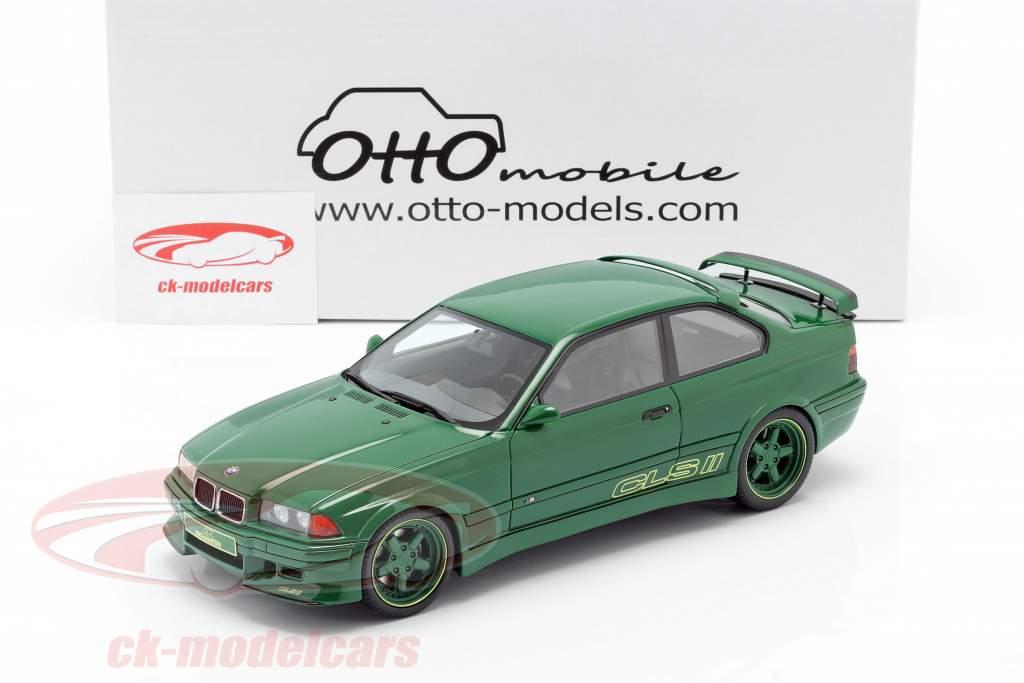 BMW AC Schnitzer E36 CLS II 1995 grøn 1:18 OttOmobile