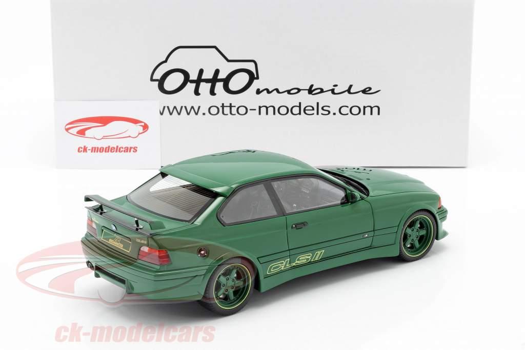 BMW AC Schnitzer E36 CLS II 1995 groen 1:18 OttOmobile