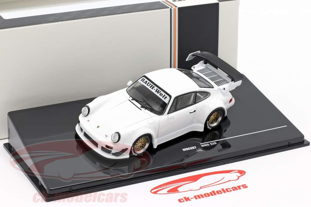 Porsche 911 (930) RWB Rauh-Welt white 1:43 Ixo