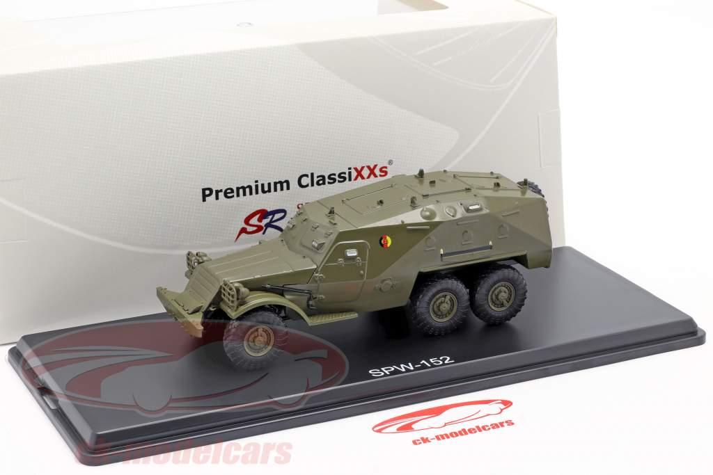 SPW-152 NVA Militair voertuig donkere olijf 1:43 Premium ClassiXXs