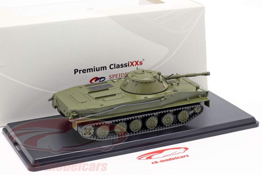 PT-76 NVA Tanques azeitona escura 1:43 Premium ClassiXXs