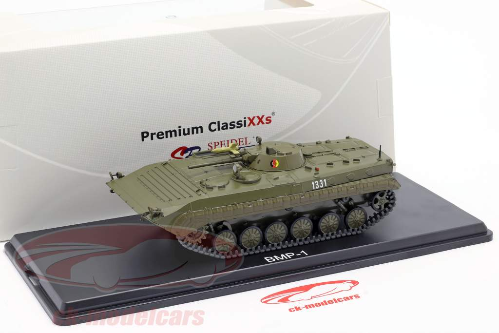 BMP-1 NVA rustning mørk oliven 1:43 Premium ClassiXXs