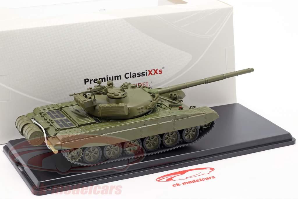 T-72A NVA rustning mørk oliven 1:43 Premium ClassiXXs