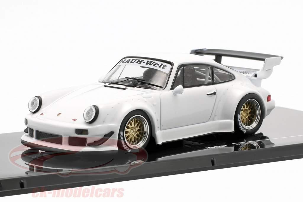 Porsche 911 (930) RWB Rauh-Welt weiß 1:43 Ixo