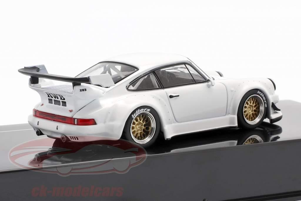 Porsche 911 (930) RWB Rauh-Welt wit 1:43 Ixo