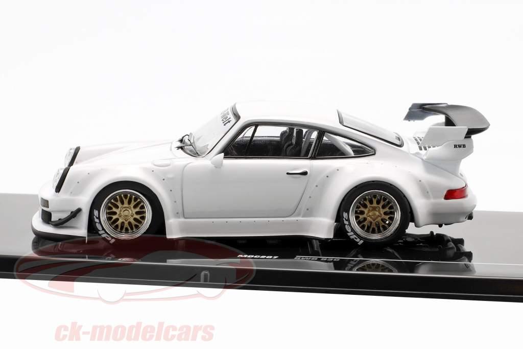 Porsche 911 (930) RWB Rauh-Welt bianco 1:43 Ixo