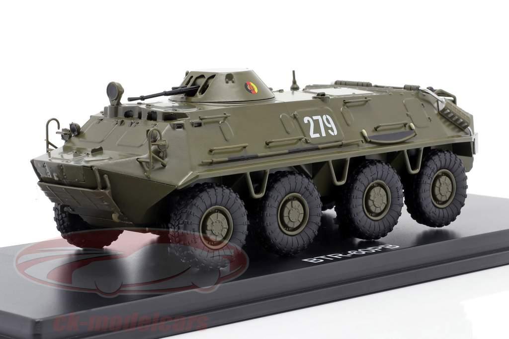 BTR-60PB NVA rustning mørk oliven 1:43 Premium ClassiXXs