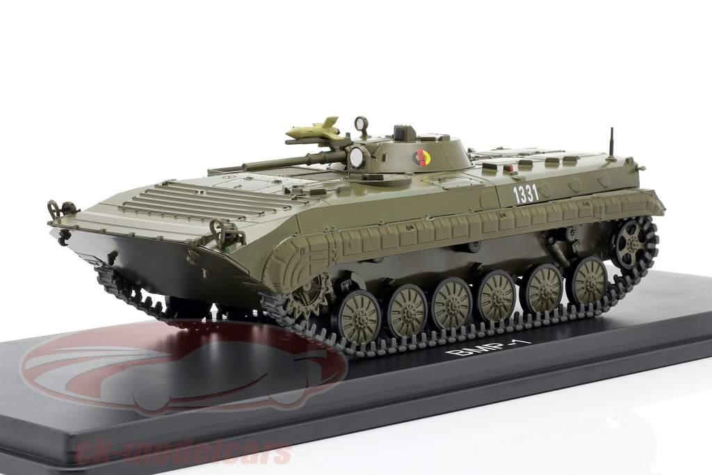 BMP-1 NVA Tanques azeitona escura 1:43 Premium ClassiXXs