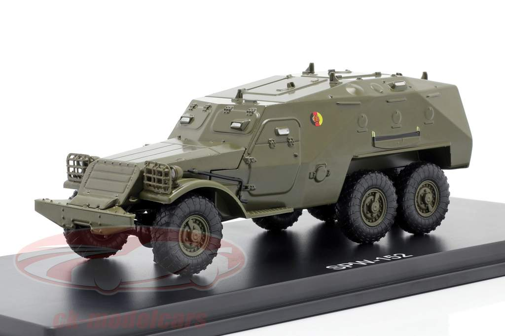 SPW-152 NVA Veículo militar azeitona escura 1:43 Premium ClassiXXs