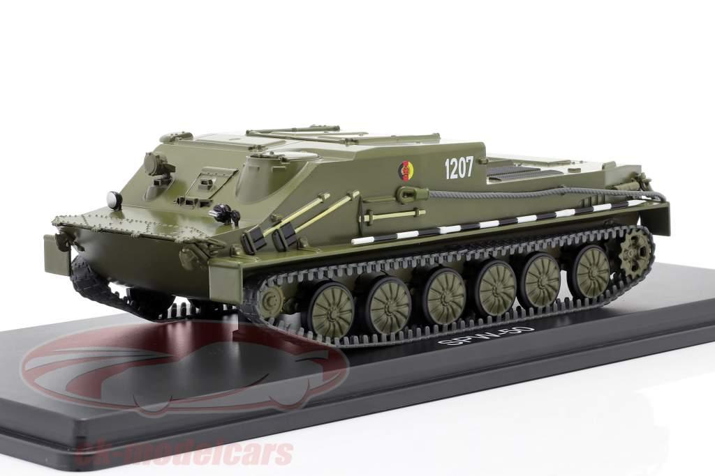 SPW-50 NVA Tanks donkere olijf 1:43 Premium ClassiXXs