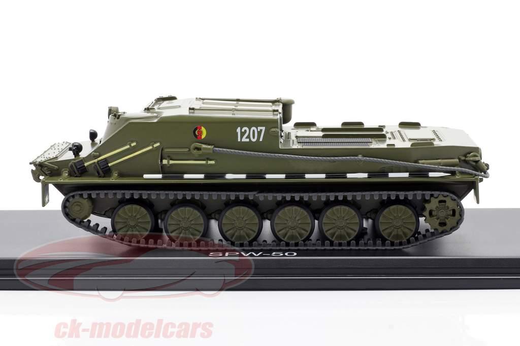 SPW-50 NVA rustning mørk oliven 1:43 Premium ClassiXXs
