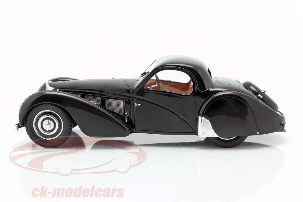 Bugatti T57SC Atalante Byggeår 1937 sort 1:18 Matrix
