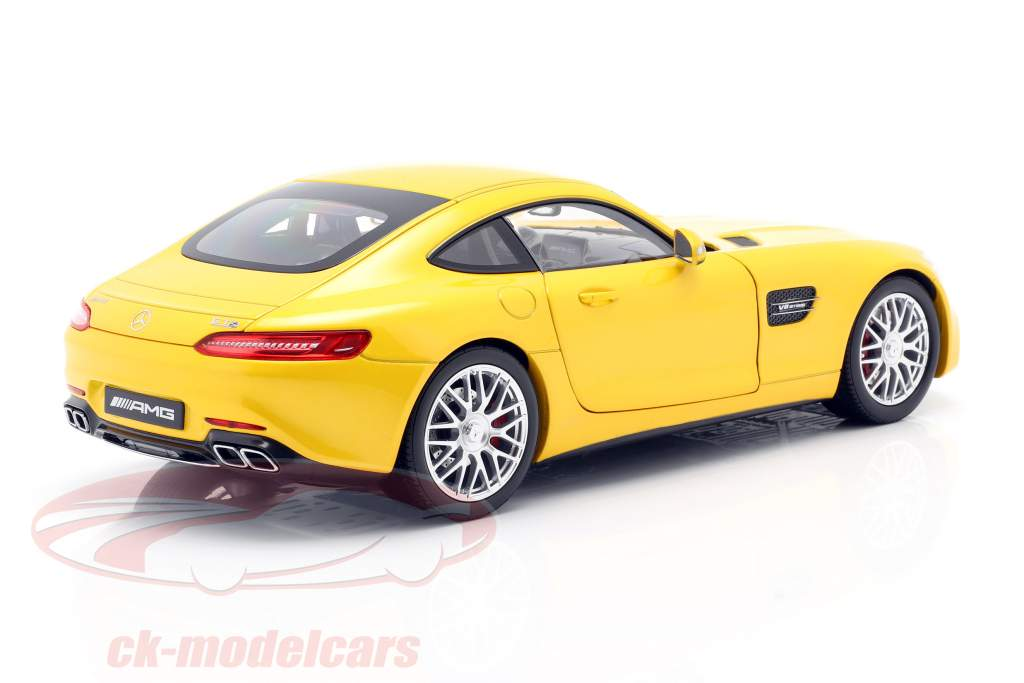Mercedes-Benz AMG GT S Coupe (C190) AMG solarbeam 1:18 Norev