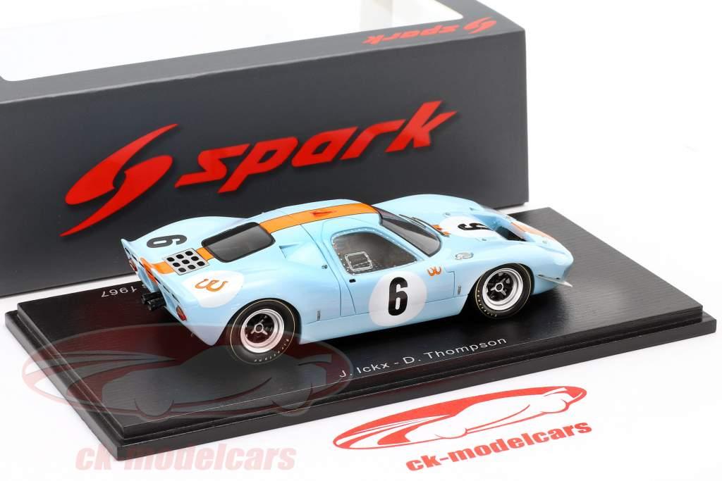 Mirage M1 #6 Winner 1000km Spa 1967 Ickx, Thompson 1:43 Spark