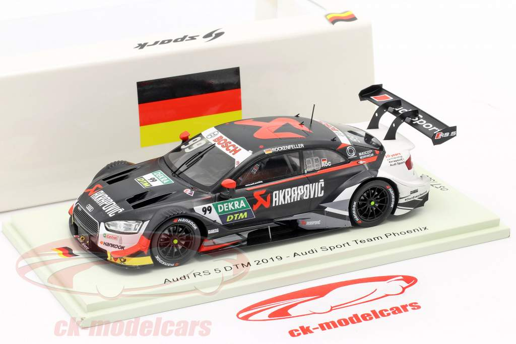 Audi RS 5 DTM #99 DTM 2019 Mike Rockenfeller 1:43 Spark