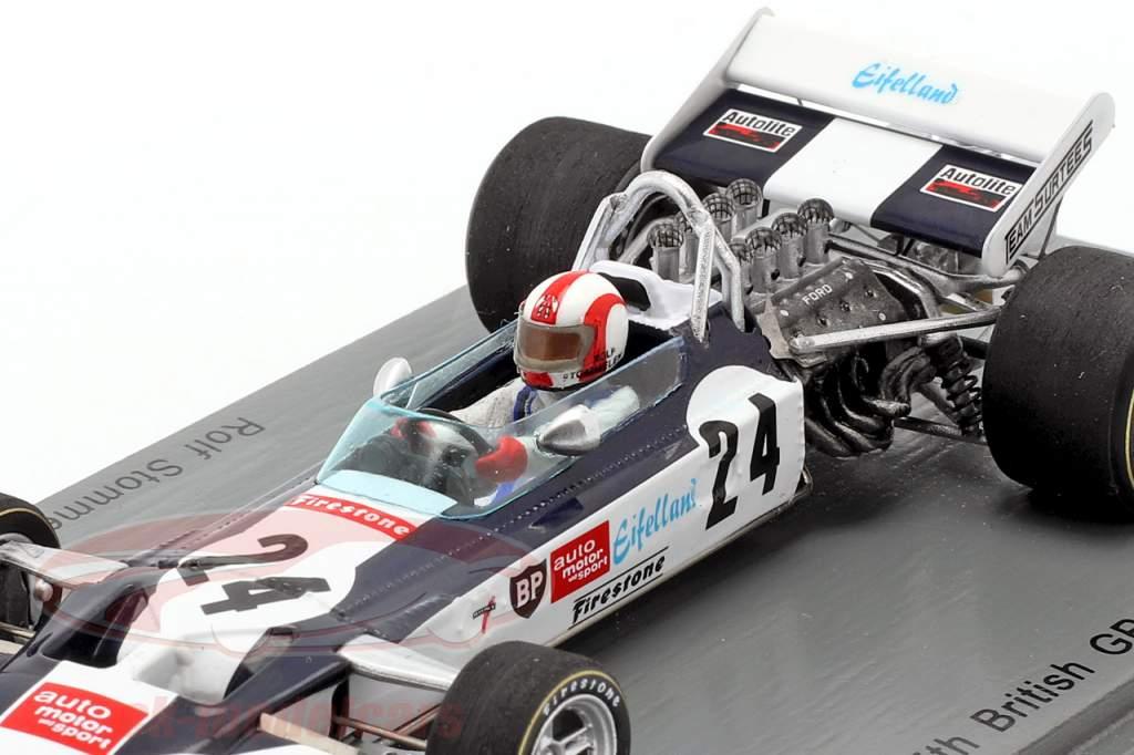 Rolf Stommelen Surtees TS9 #24 5º Britânicos GP Formula 1 1971 1:43 Spark