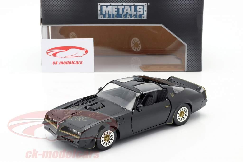 Tego's Pontiac Firebird 1977 Filme Fast & Furious IV (2009) preto 1:24 Jada Toys