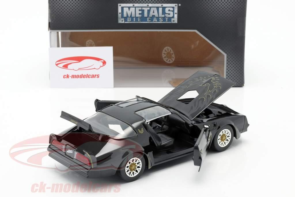 Tego's Pontiac Firebird 1977 フィルム Fast & Furious IV (2009) 黒人 1:24 Jada Toys