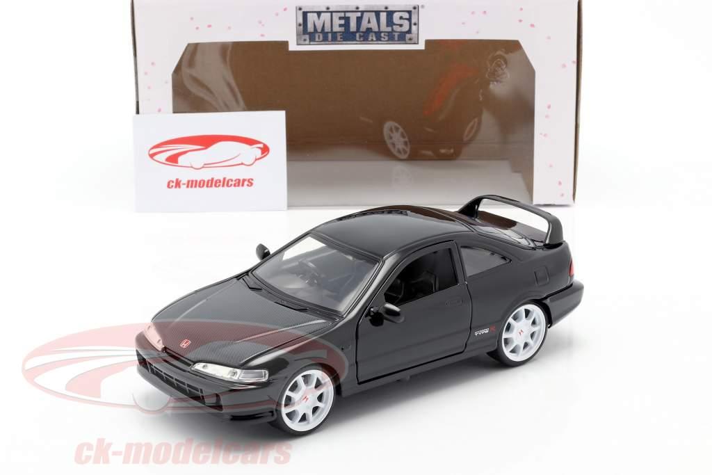 Honda Integra Tapez R Année de construction 1995 noir 1:24 Jada Toys